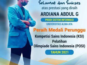Kompetisi Sains Indonesia (KSI) POSI Bidang Komputer