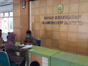 Kegiatan Penelitian Mahasiswa MBKM bersama dengan Dosen SI UAA dan Dosen ARS UAA di Dinas Kesehatan Kabupaten Bantul