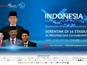 Launching Literasi Digital Oleh Pemerintah Republik Indonesia